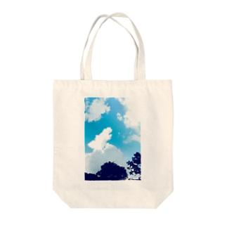 SummerSky Tote bags