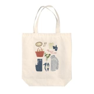 レディーなアイテム Tote bags