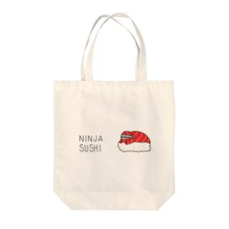 NINJA SUSHI Tote bags