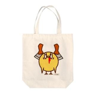 ミンチクくんトートバッグ Tote bags