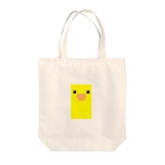 しかくいとりさん Tote bags
