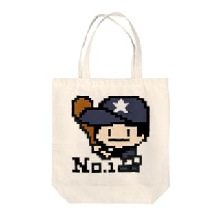 野球少年☆グレー Tote Bag
