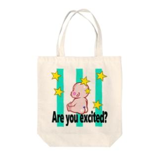 ほしBABY Tote bags