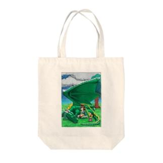 竜翼雨傘 Tote bags