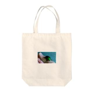 っひゃっほー Tote bags