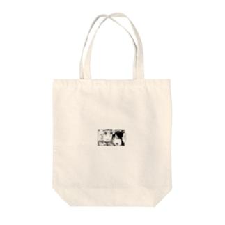 怖がりナターシャ Tote bags