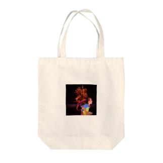 Vivid Tote bags
