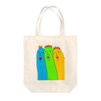 トリオン Tote bags