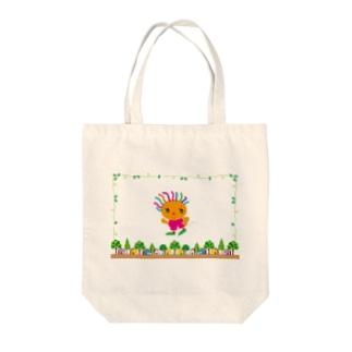 ジョギングでダイエットのクレコちゃん Tote bags