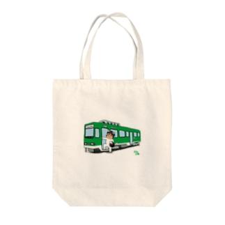 WASI わっしー国際芸術祭×のりもの Tote bags