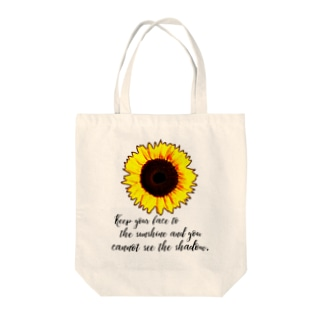 sunflower② Tote bags