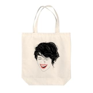笑う門には福来たる!^4^ Tote bags