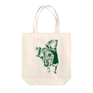 愛犬トート Tote Bag