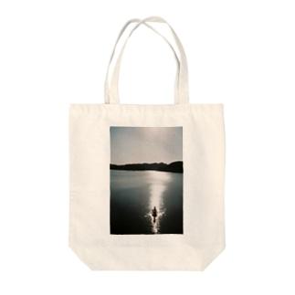 湖ブロック Tote Bag