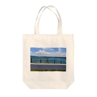 罫線 Tote bags
