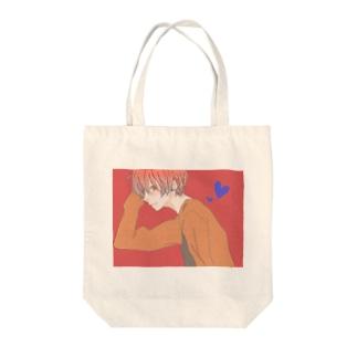 男子高校生 Tote bags