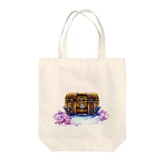 記憶の宝箱 Tote bags