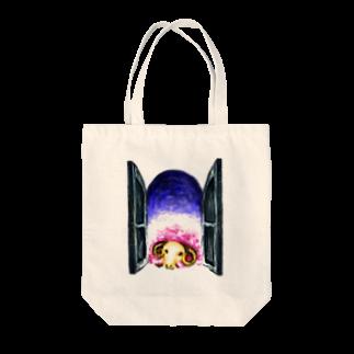 sioriの夢見る羊トートバッグ