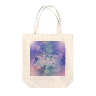 恋するFloWer-r Tote bags