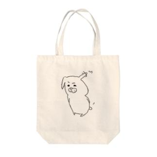 びっくり Tote bags