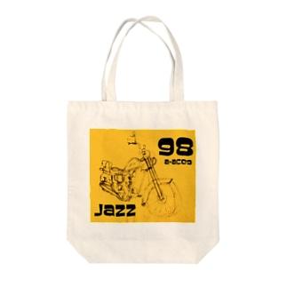 1998 JAZZ Tote bags
