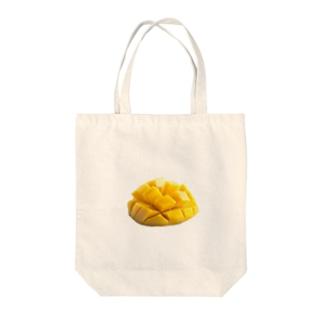 いただきマンゴー💛💓 Tote bags