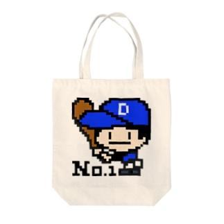 野球少年D Tote Bag