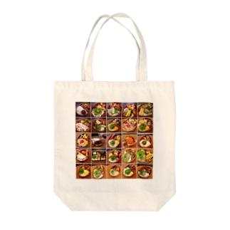 mage-wappa-bento Tote bags