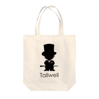Tallwell ロゴ入り Tote bags