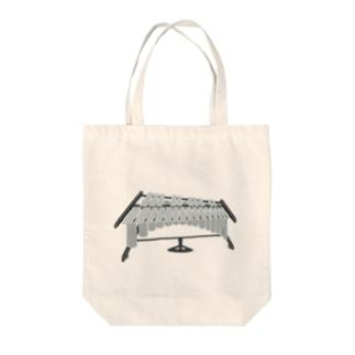 Vibraphone Tote bags