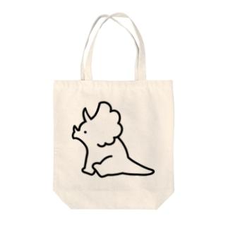 トリケラトプス Tote Bag