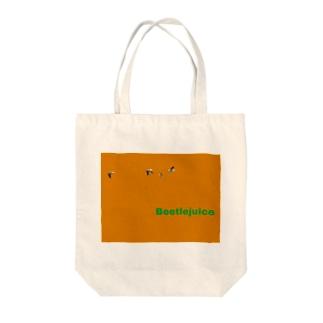 Beetlejuice Tote bags