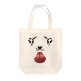 Snapchatの犬 Tote bags
