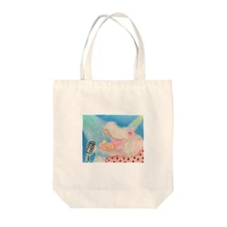 カバーソング Tote bags