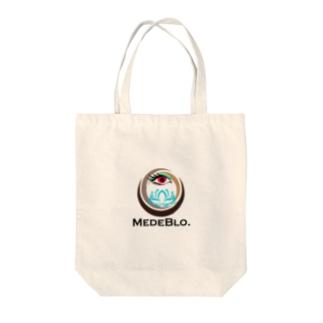 フリーメイソンパクリロゴ(めでブロVer.) Tote bags
