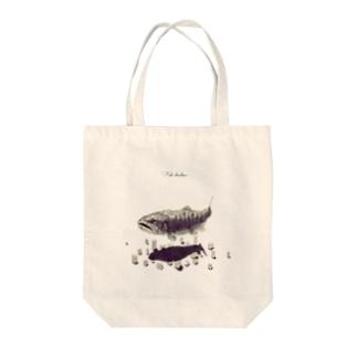 魚影(Fish shadow) Tote bags