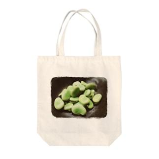 空豆SOUL Tote bags