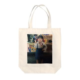 りんご病で入園式に挑んだ幼きやし Tote Bag