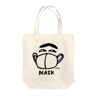 mask boy トートバッグ