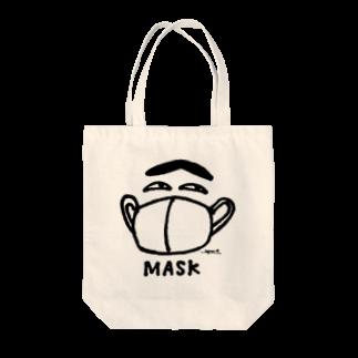 シモウラ マユミのmask boyトートバッグ