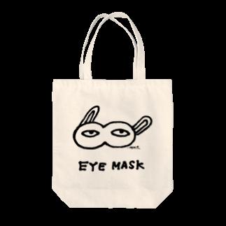 シモウラ マユミのeye maskトートバッグ