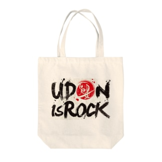 UDON is ROCK Tote bags
