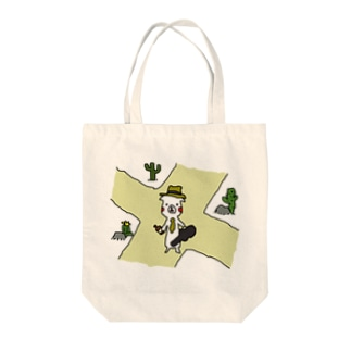 シロさん×Crossroad Tote bags