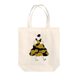 素敵なドレス Tote bags