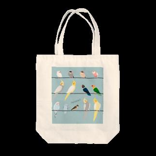 ビガクブのトリノート Tote bags