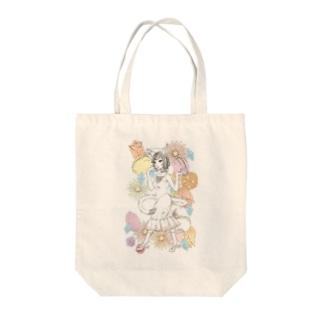 猫娘2 Tote bags