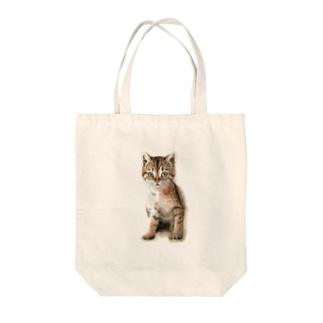 キジトラ子猫 トートバッグ