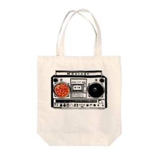 MGarage '90 ラジカセ&ピザ🍕 Tote Bag
