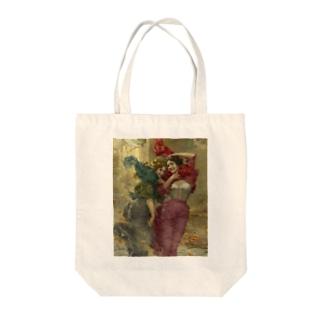 ガエターノ・ベッレイ《風の強い日》 Tote Bag