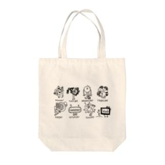 1WEEK MONSTERS Tote Bag